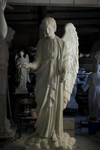 statua Angelo del vento