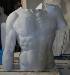 Torso Davide di Michelangelo