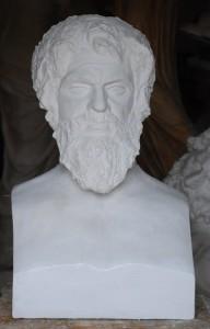Busto  LB 183 Filosofo Antistene