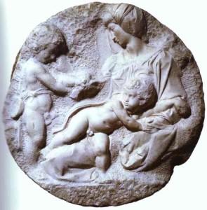 Bassorilievo LR 155 Tondo Taddei - Michelangelo