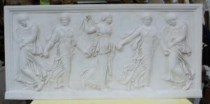 Bassorilievo LR 166 Danzatrici cinque figure