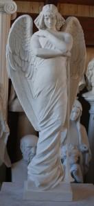 LS 248 Angelo della Resurrezione h. cm. 110