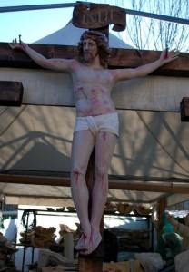 LS 249 Cristo Crocifisso h. cm. 133