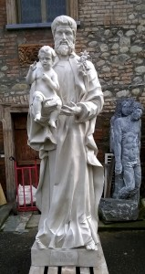 LS261 San Giuseppe con Bambino h. cm. 257