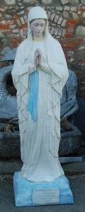 LS 295 Madonna dei Poveri di Banneux h. cm. 200