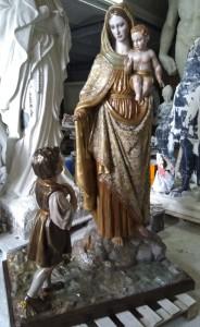 LS 335 Madonna della Neve h. cm. 200