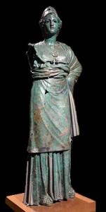 LS 349 Minerva Etrusca di Arezzo h. cm. 180