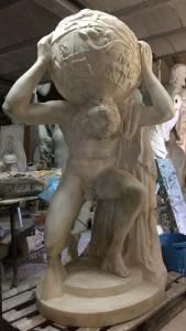 LS 354 Atlante Farnese h. cm. 190