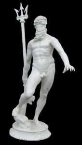 LS 363 Nettuno del Giambogna  h. cm. 189 (al tridente) (Piazza del Nettuno – Bologna)
