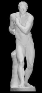 """LS 364 Gruppo dei Pugilatori del Canova """"Damosseno"""" h. cm. 215 (Musei Vaticani – Roma)"""