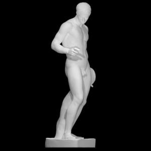 LS 366 Discobolo di Policleto h. cm. 175 (Museo Nazionale Romano di Palazzo Massimo)