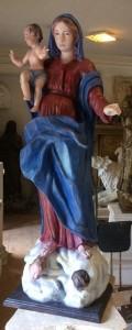 LS 368 Madonna h. circa cm. 130