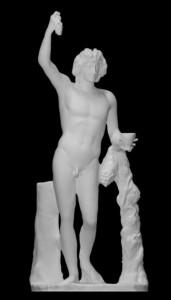 LS 376 Dionysus Farnese h. cm. 203 alla mano – Museo Archeologico Nazionale Napoli