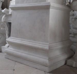 LV 150 Plinto rettangolare per statue