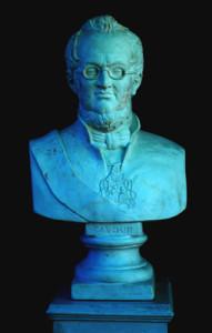 Busto di Camillo Benso conte di Cavour
