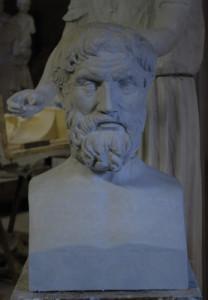 Busto LB 178 Filosofo Epicuro
