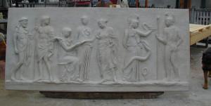 Bassorilievo LR 132 Hermes - Dioniso
