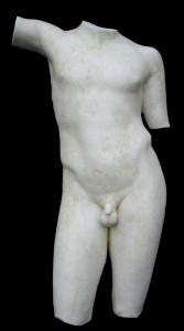 Anatomia LA 16 Torso anteriore Efebo di Maratona