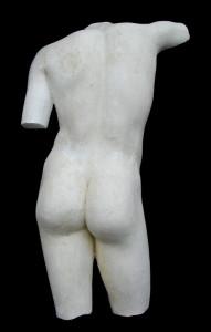 Anatomia LA 17 Torso posteriore Efebo di Maratona