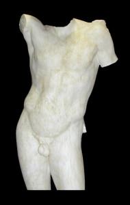 Anatomia LA 25 Torso tuttotondo Hermes di Prassitele
