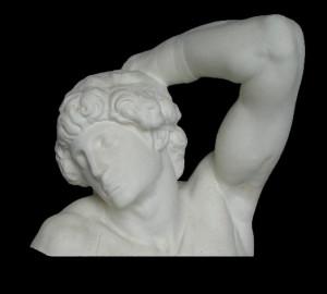 LA 33 Busto Schiavo Morente