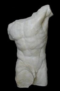 Torso anteriore Gladiatore Borghese