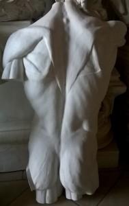 Torso posteriore scorticato di Houdon