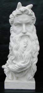 Maschera LM 31 Mosè (Michelangelo)
