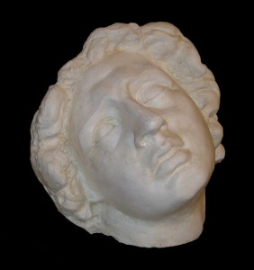Maschera LM 46 Alessandro Magno morente