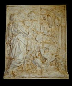 Bassorilievo LR 100 Uscita dall'Arca - Jacopo della Quercia