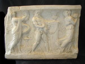 Bassorilievo LR 129 Scene Mitologiche elleniche