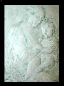 Bassorilievo LR 142 Madonna con Bambino