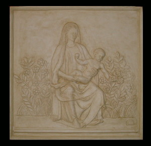 Bassorilievo LR 146 Madonna del roseto