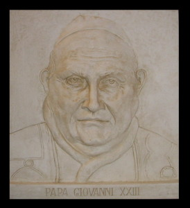 Bassorilievo LR 148 Papa Giovanni XXIII