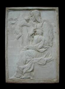 Bassorilievo LR 53 Madonna della scala - Michelangelo