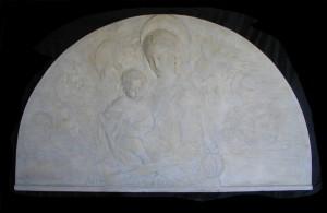 Bassorilievo LR 56 Lunetta Madonna del Rossellino