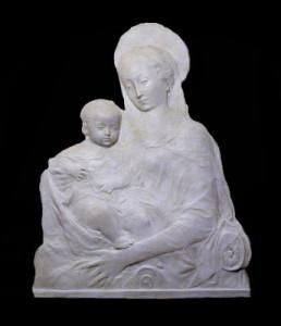 Bassorilievo LR 61 Madonna del Rossellino Scontornata