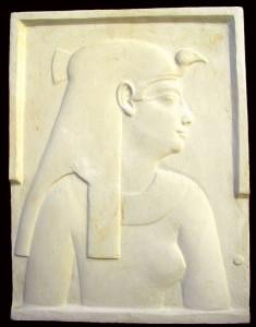 Bassorilievo LR 88 Profilo divinità Egizia