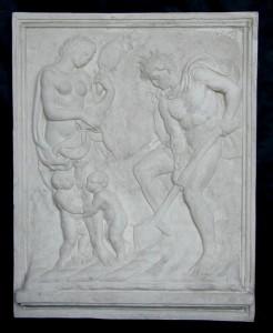 Bassorilievo LR 96 Il lavoro - Jacopo della Quercia