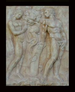 Bassorilievo LR 99 Il peccato originale - Jacopo della Quercia