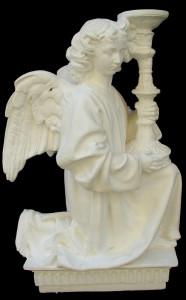 Angelo con candelabro