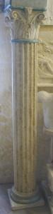 LV 110 Colonna Corinzia con capitello Corinzio