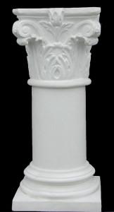 LV 38a Colonna liscia per tavolo con capitello Corinzio