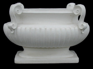 LV 74 Vaso ovale per tavolino