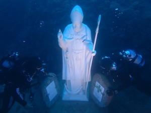 Statua di Sant'Erasmo degli abissi