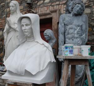 Busto LB 164 Santa Giovanna Antida