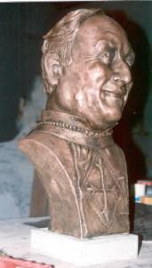 Busto Ritratto parroco - Vinovo (TO)