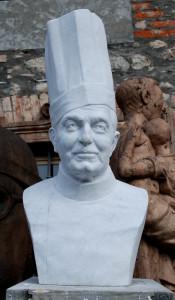 Angelo Consoli il grande cuoco - Busto ritratto