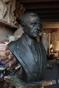 Giacomo Matteotti - Busto ritratto in bronzo - Comune di Bolzano