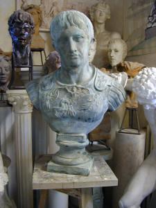 Busto in bronzo LB24BR Augusto Imperatore Romano